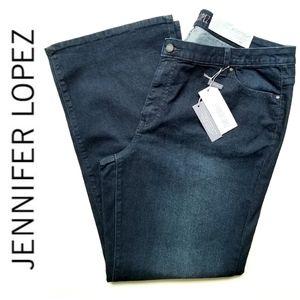 NWT Jennifer Lopez Bootcut Jeans 20W Short